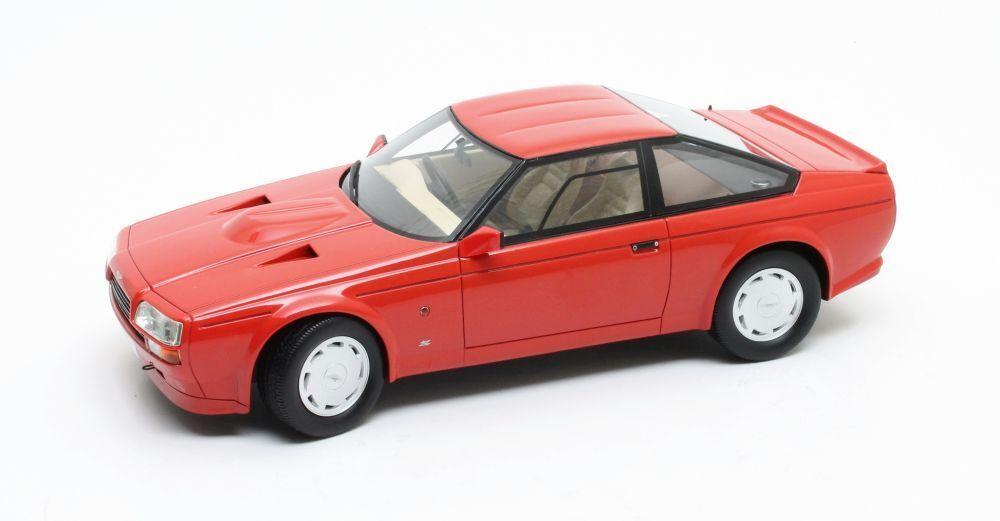 CML033-1, CULT SCALE MODELS, ASTON MARTIN ZAGATO COUPE, 1986, RED, 1 18 SCALE