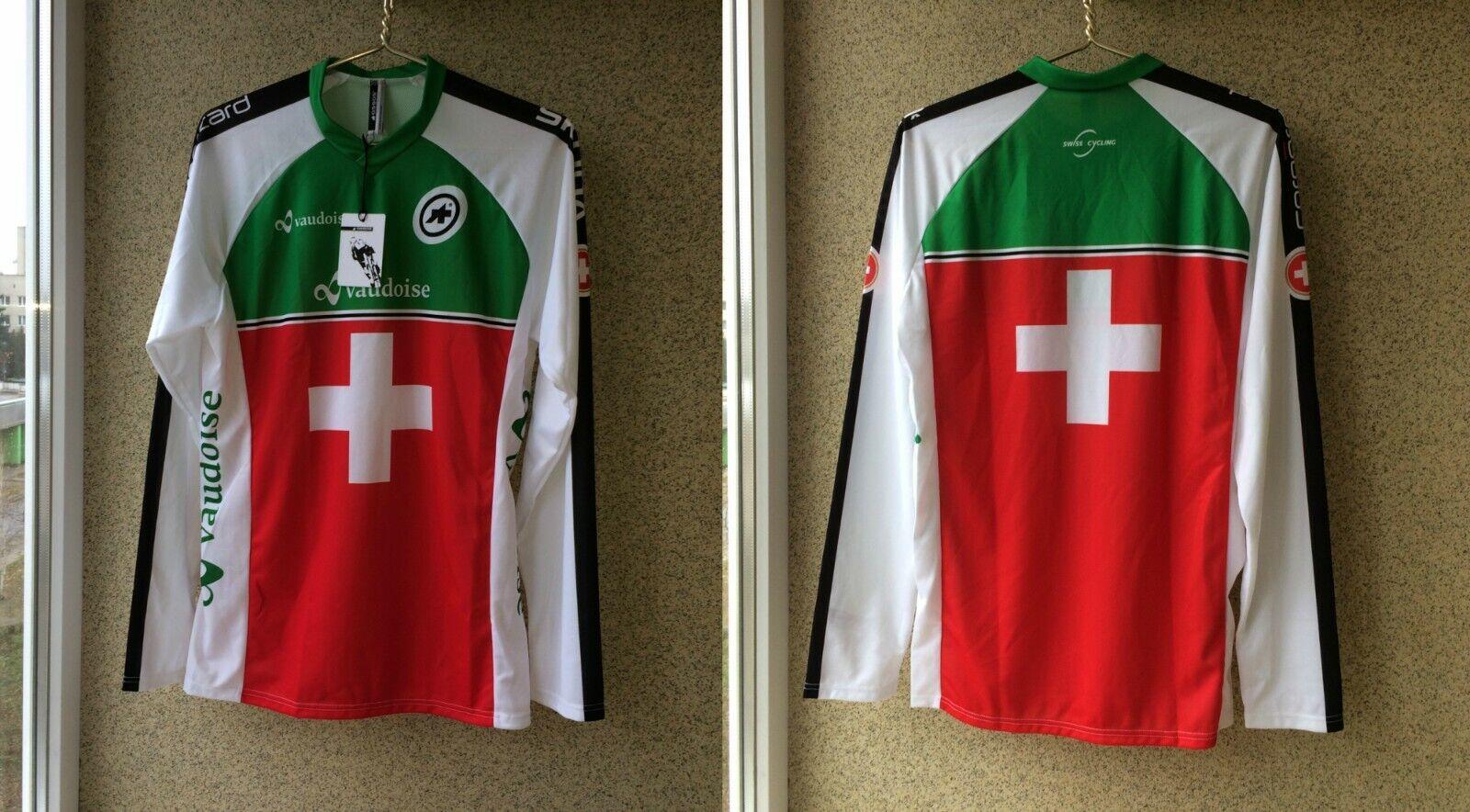 Federation Jersey Suisse Cycling Assos Jersey XS Camiseta Zwitserland Shirt