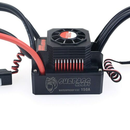 US STOCK KK Series 120A//150A Brushless ESC For 2-6S 1//10 2-4S 1//8 Rc Car Parts