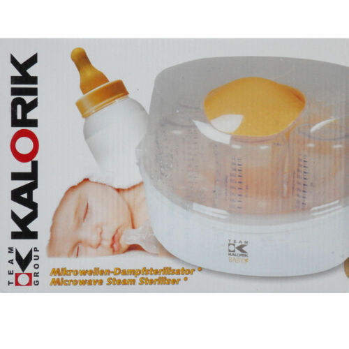 Equipo calorífico bebé residuos botellas esterilizador TKG BBS 1000 esterilizador de vapor nuevo
