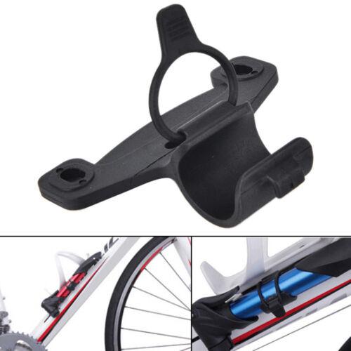 Pump Strap Air Black Biking Durable Tool Stand Bike Fixed Repairing Holder Clip