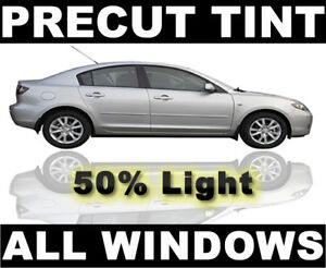 Fits Honda Civic Hatchback 1984-1987 AUTO PreCut Window Film Any Tint Shade
