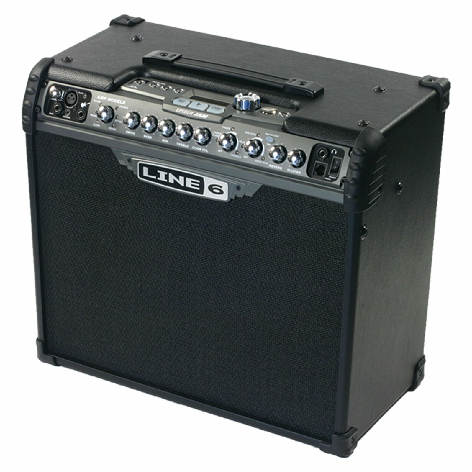 Line 6 Spider Jam 1x12  75w Modeling Guitar Amp w  Backing Tracks