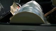 Gigantic Roll Plastic 56 12 X 25diameter Lot Of 2 Giant Roll For Local P