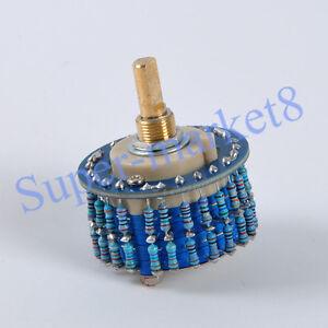 2P-24-Step-Attenuator-Volume-Control-Pot-Log-A-10K-Mono-Potentiometer-Ladder-1pc