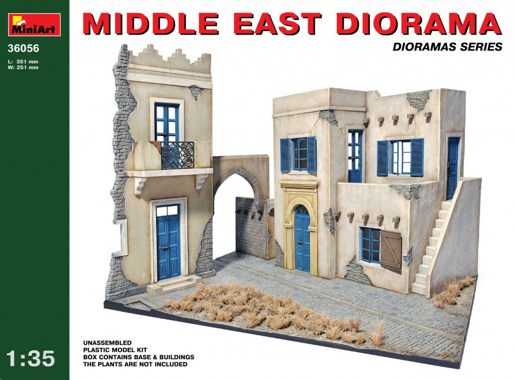 Minikonst 1 35 Mellanösterns diorama modellllerlerl Kit