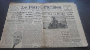 JOURNAUX-LE-PETIT-PARISIEN-N-23-225-MERCREDI-9-OCTOBRE-1940-ABE