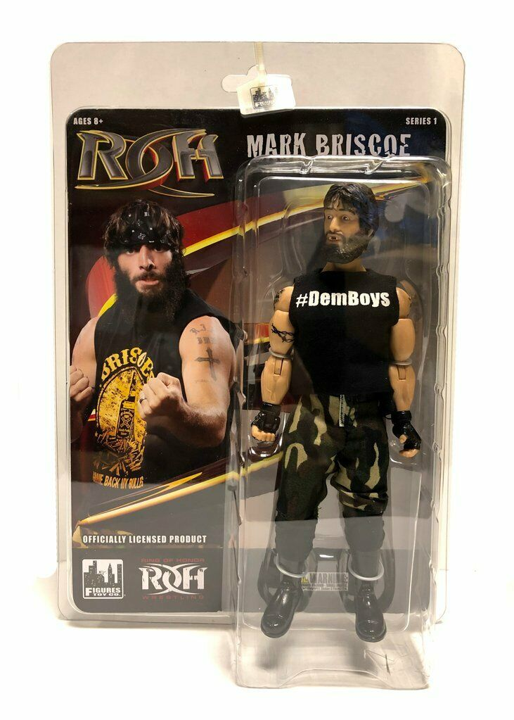 Official ROH - Ring Of Honor Series 1   Mark Briscoe Action Figure