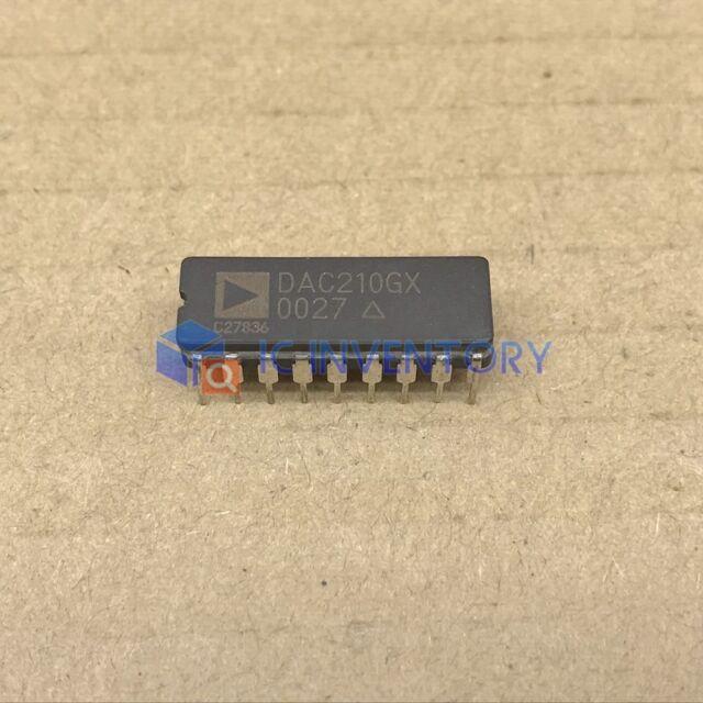 1PCS DAC210GX Encapsulation:CDIP-18,Serial Digital to Analogue RGB/YUV
