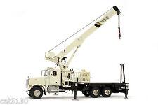 "National Crane 1300H Peterbilt Truck Crane - ""IVORY"" - 1/50 - TWH #048-01035"