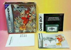 Kingdom Hearts Chain of Memories  Nintendo Game Boy Advance 2006 Complete Tested