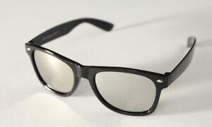 PIPEL-Kult-Sonnenbrille-Retro-Brille-Hornbrille-verspiegelt-unisex-neu