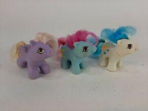 My Little Pony MLP Vintage G1 Newborn Baby Lot of 3 Dangles Shaggy & Yo Yo