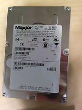 """** Maxtor Atlas 10K 73GB SCS 80-Pin 3.5"""" Hard Disk Drive Ultra320 0XJ657"""