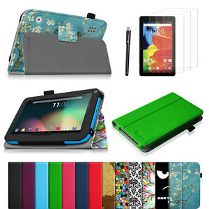 Bundle-For-RCA-Voyager-7-034-Pro-7-034-RCA-Voyager-II-7-034-III-7-034-Folio-Case-Cover