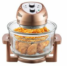 Big Boss 1300-Watt Oil-Less Air Fryer, 16-Quart - Copper,  As Seen on TV, NEW!