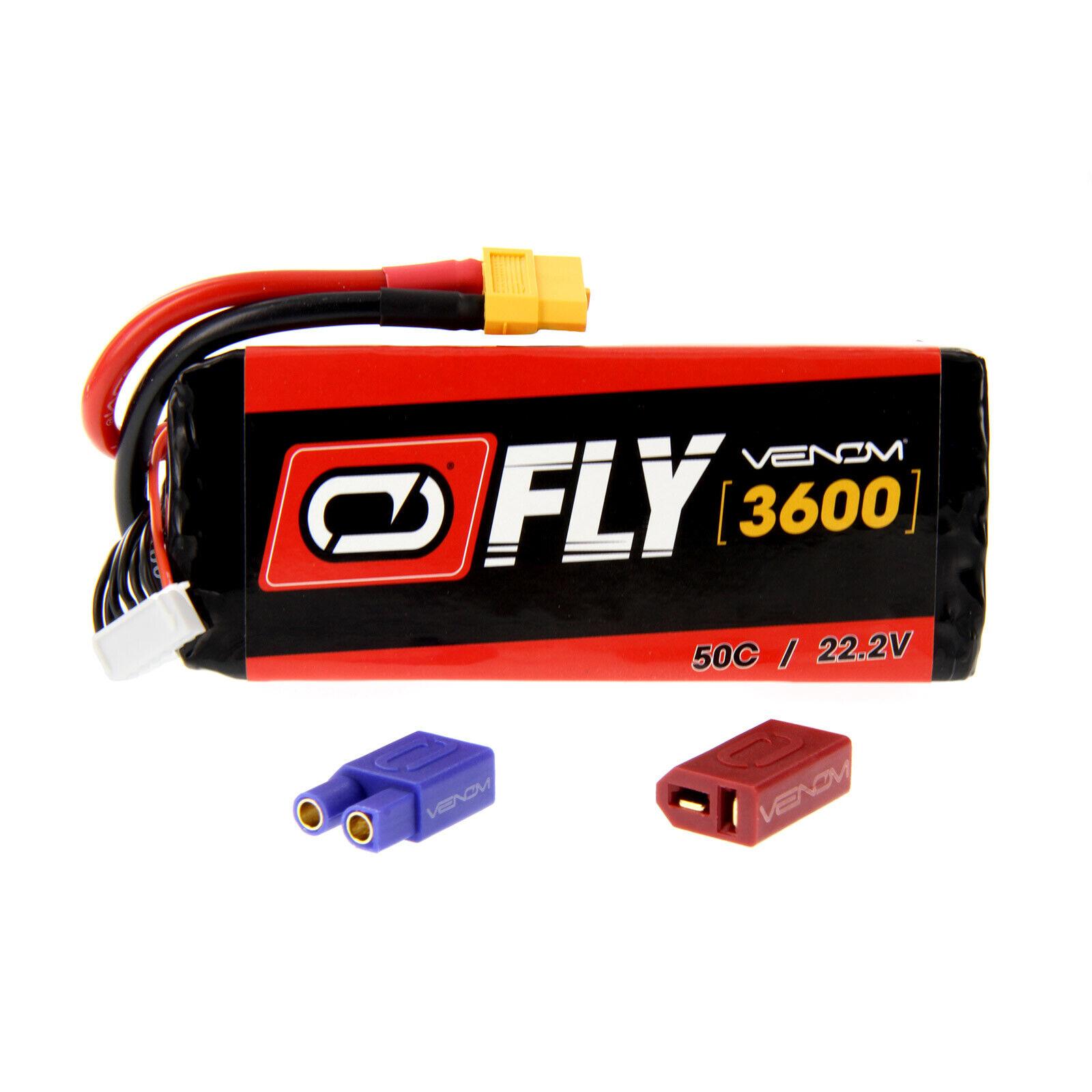 Great Planes Reactor 3D 50C 6S 3600mAh  22.2V LiPo Battery by Venom  comprare a buon mercato