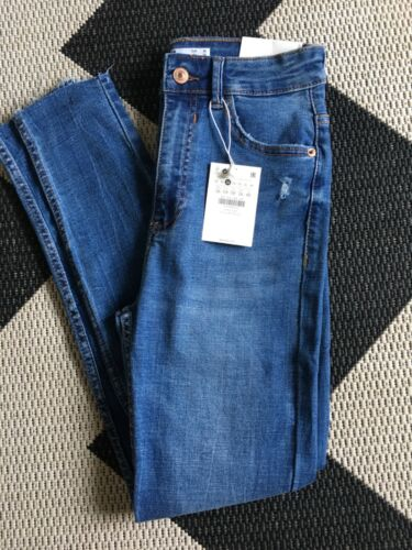 Super High Rise Cropped Skinny Jeans EUR 36