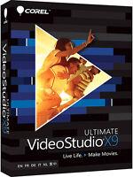 Corel Videostudio Ultimate X9 - Retail Box Vsprx9ulmlmbam