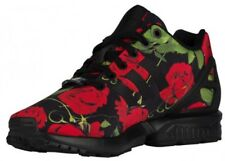 ADIDAS Originals ZX Flux Women's Sneakers AQ4752 Black/Red Rose Sz ...