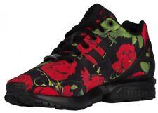 ADIDAS Originals ZX Flux Women's Sneakers AQ4752 Black/Red Rose Sz ...