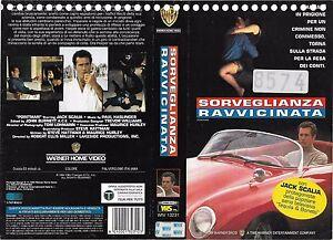 SORVEGLIANZA-RAVVICINATA-1994-vhs-ex-noleggio