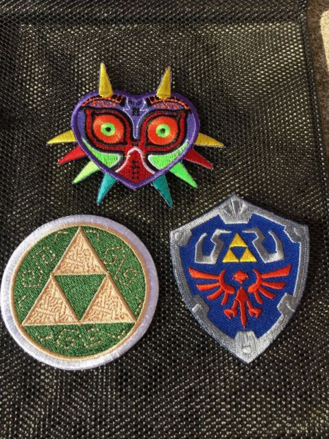 Master Shield Iron-Patch Applique Legend of Zelda