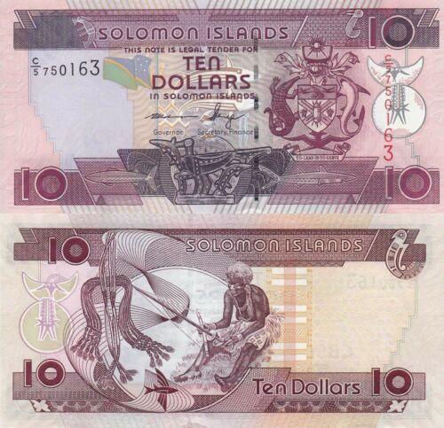Solomon Islands 10 Dollars ND//2006 Shark//Weaver//C5 Prefix UNC