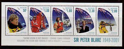 Australien, Ozean. & Antarktis Neuseeland 2009 Herr Peter Blake Miniblatt Nicht Gefaßt Postfrisch Neuseeland Mnh Eine GroßE Auswahl An Waren