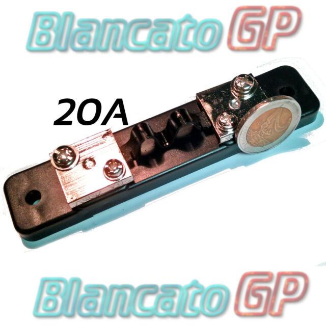 RESISTENZA DI SHUNT 20A 75mv CLASSE 0.5 DC amperometro voltmetro ampere amp din