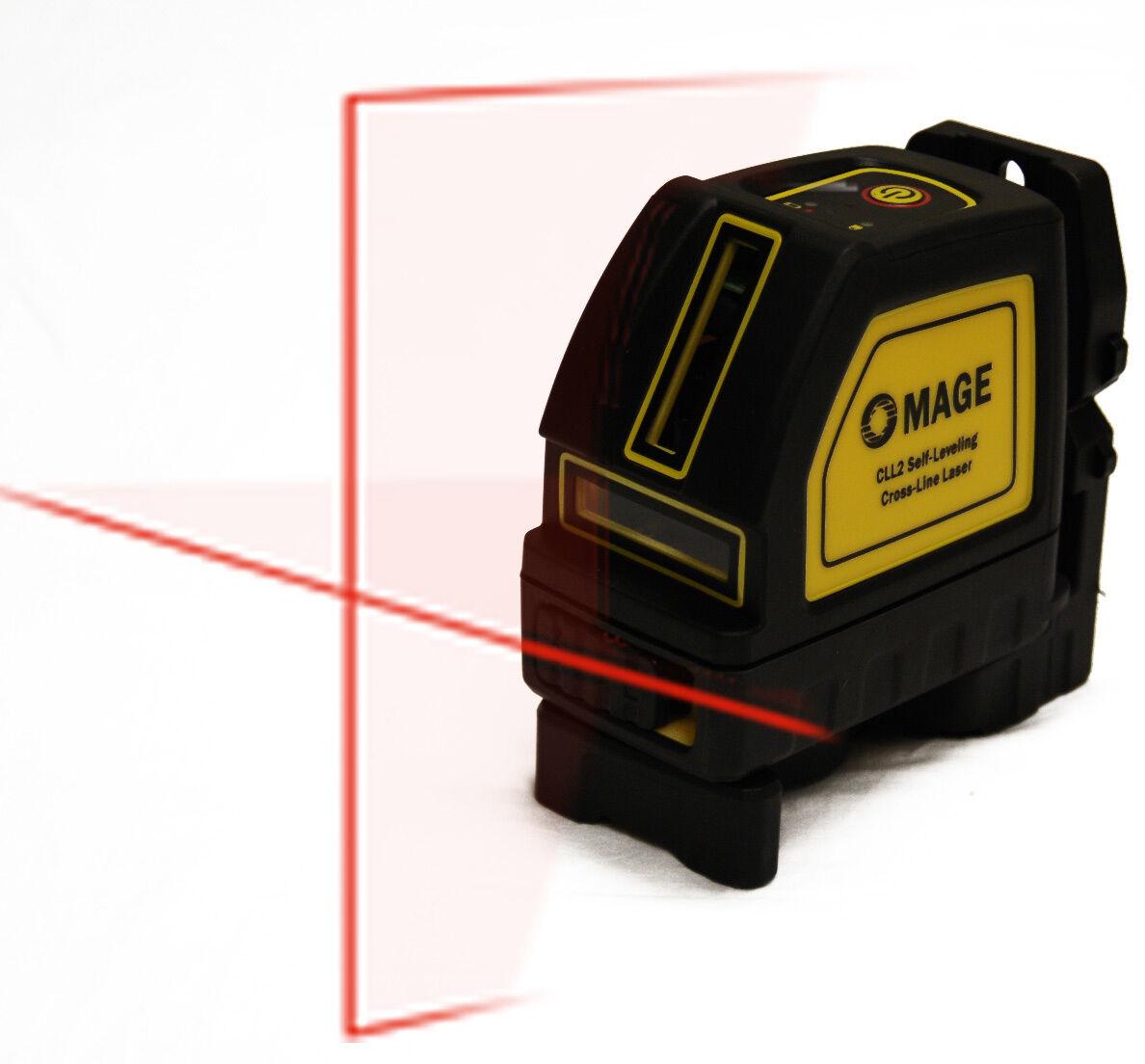 98 ft Mage Cross Line Laser Level Auto Leveling Horizontal greenical DeWalt Range