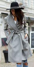 bnwt Allsaints MIYA wool coat.uk 6 (6-8)grey. £358