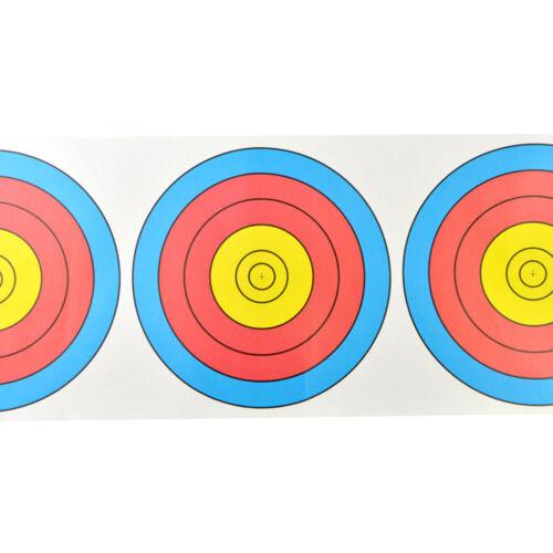 10 PCS Shooting Target Paper Archery 63 X 22cm Face Spot Bow Bullseye Practice
