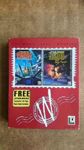 1 of 1 - Star Wars Rebel Assault & Rebel Assaut 2 PC  Big Box Edition