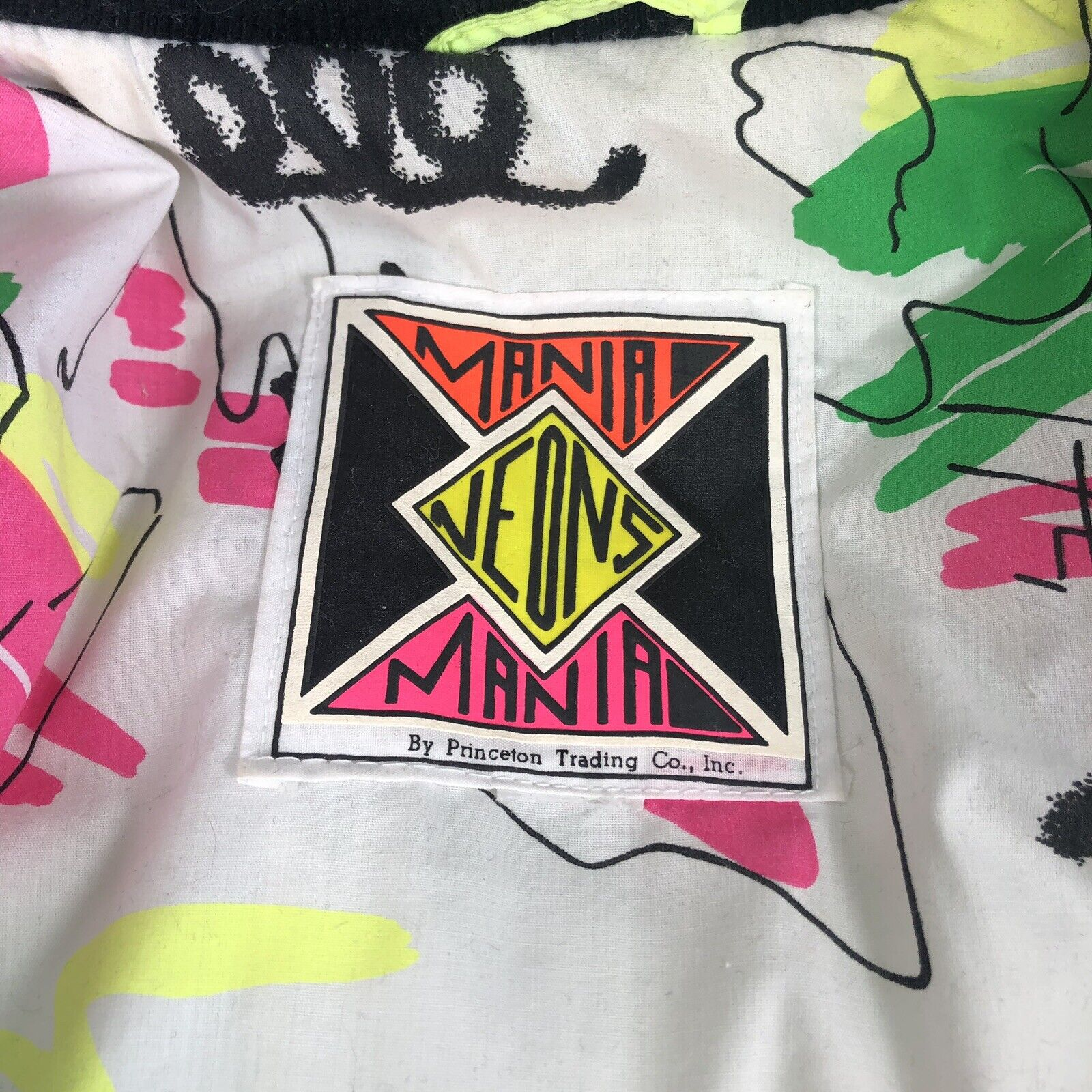 Mania Neon by Princeton trading vtg 80's/90/s in… - image 5