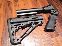 Mesa Tactical & Hogue Stock Kit Remington 870 12 Gauge Pistol Grip 6 Position