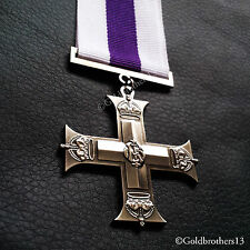 MILITARY CROSS MEDAL AWARDED TO OFFICERS OF BRITISH ARMED FORCES ROYAL copy