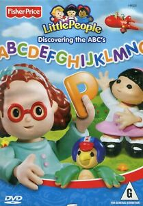 Fisher-Price-Little-People-Discovering-the-ABC-039-s-1-DVD-Like-New-Region-4