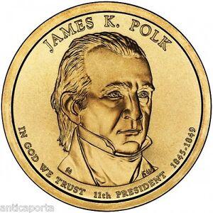 1-DoLARES-USA-ESTADOS-UNIDOS-2009-JAMES-K-POLK-DENVER-11D-DoLAR-1845-1849