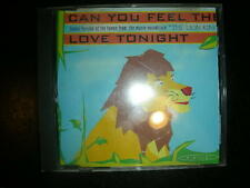 Dance CD HARAJUKU  Can You Feel The Love Tonight ( 4 Tracks) cds  Dance Street