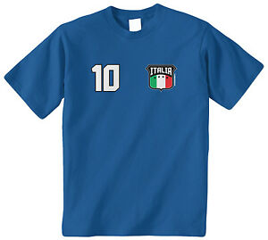 Threadrock Men/'s Italia National Team Hoodie Sweatshirt Italy Soccer