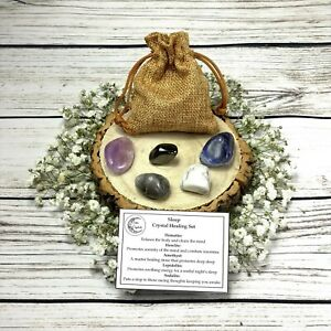 Sleep-Crystals-Gemstone-Gift-Set-With-Pouch-Healing-Tumblestones-for-Insomnia