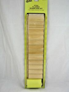 Image Is Loading STAIRCASE KIT By Houseworks 1 12 Scale Dollhouse