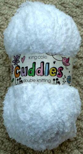 Knitting Wool 50g Cuddles DK Double Knitting Baby Knitting Wool Yarn King Cole