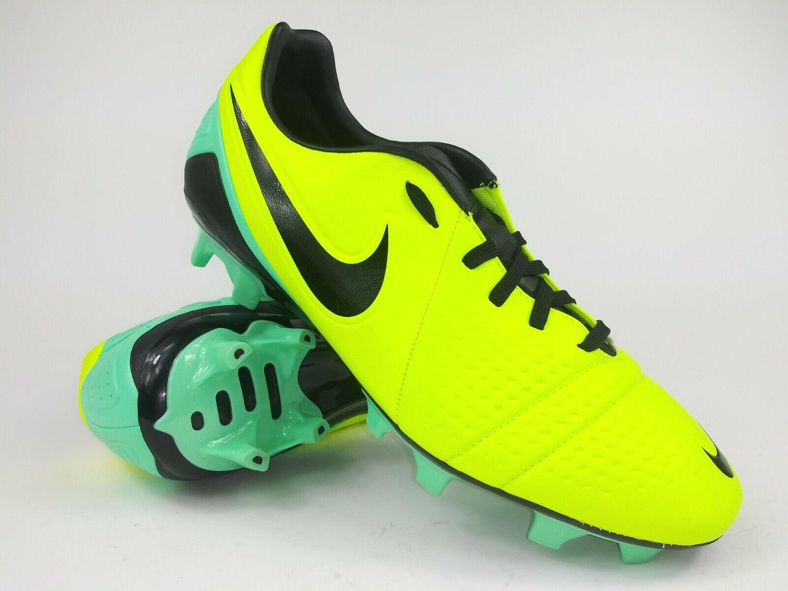 Nike Hombre Raro CTR360 Trequartista Lll Fg 525162 703 verde Amarillo Tacos