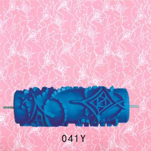 "7/"" Painting Roller Sleeve Brush Pattern Wall Art Pattern Tool Decor #7"