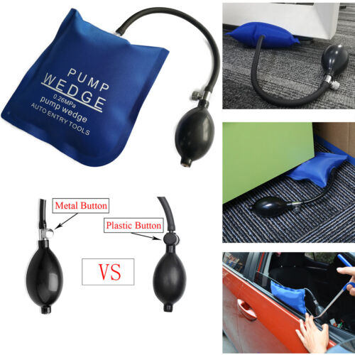Pump Wedge inflatable Air Bag Clamp Shim For Car Door Emergency Entry Open Tool