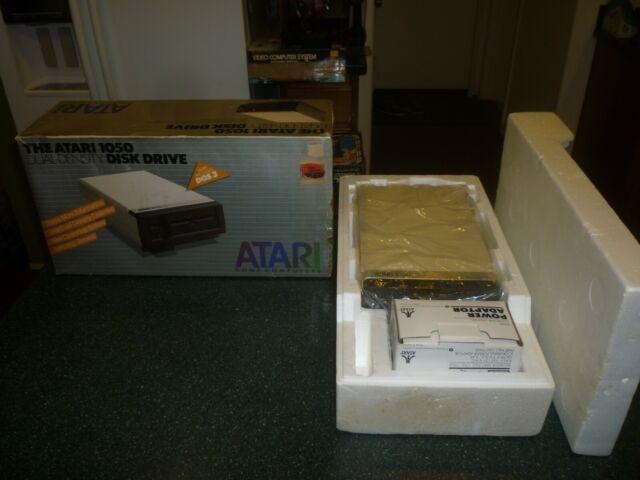 Atari 1050 Dual Density Disk Drive in Original Box for Atari 400/600/800/1200