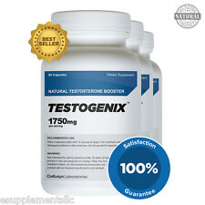 Testogenix 3 Pack - Natural Testosterone Booster and Weight Loss Pills For Men