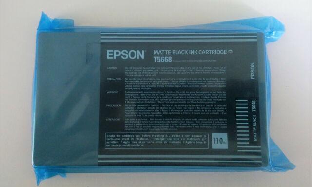 Original Epson T5668 matte black Stylus Pro 7400 7800 9400 9800 -- Folie 03/2008